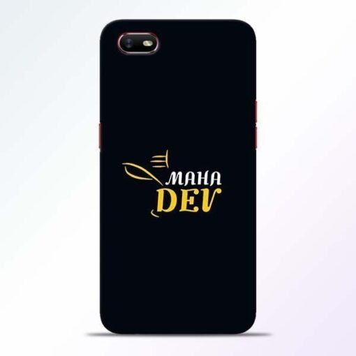 Mahadev Eyes Oppo A1K Mobile Cover