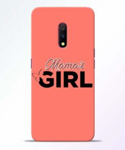 Mama Girl Realme X Mobile Cover