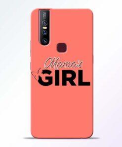 Mama Girl Vivo V15 Mobile Cover