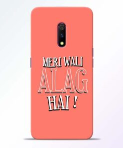 Meri Wali Alag Realme X Mobile Cover