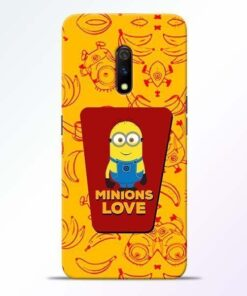 Minions Love Realme X Mobile Cover