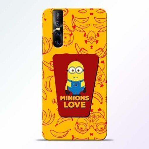 Minions Love Vivo V15 Pro Mobile Cover