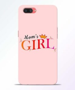 Mom Girl Oppo A3S Mobile Cover