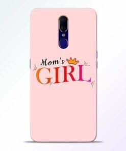 Mom Girl Oppo F11 Mobile Cover