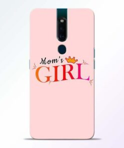 Mom Girl Oppo F11 Pro Mobile Cover
