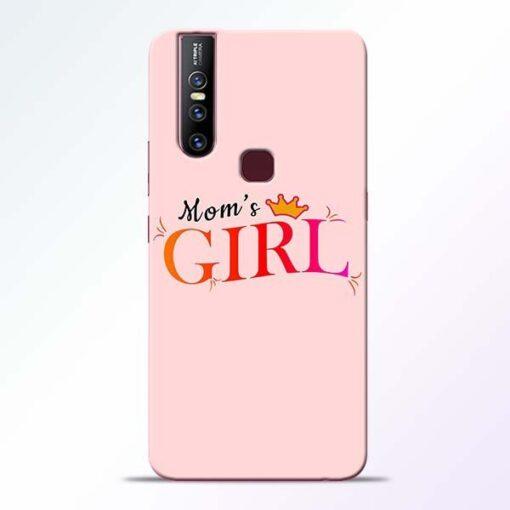 Mom Girl Vivo V15 Mobile Cover