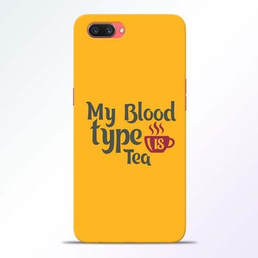 My Blood Tea Oppo A3S Mobile Cover