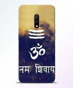 Om Namah Shivaya Realme X Mobile Cover