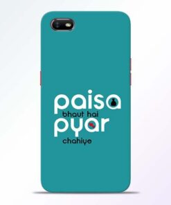 Paisa Bahut Oppo A1K Mobile Cover