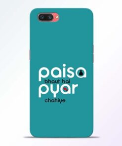 Paisa Bahut Oppo A3S Mobile Cover