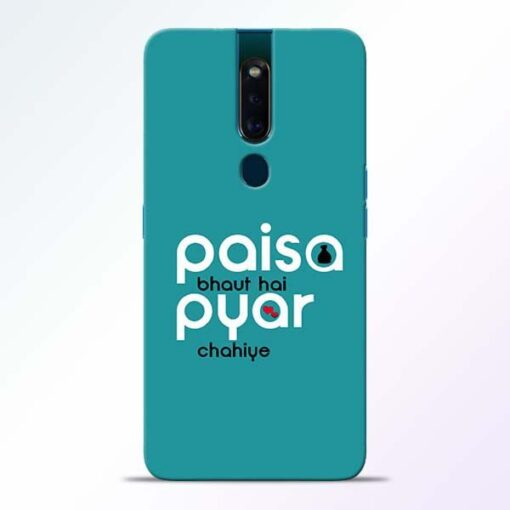 Paisa Bahut Oppo F11 Pro Mobile Cover