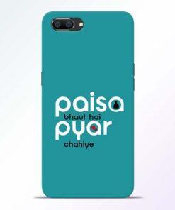 Paisa Bahut Realme C1 Mobile Cover