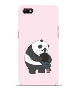 Panda Close Hug Oppo A1K Mobile Cover