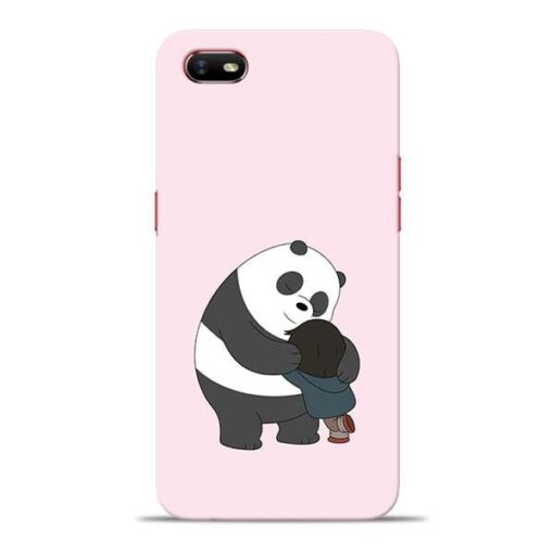 Panda Close Hug Oppo A1K Mobile Cover