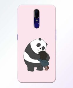 Panda Close Hug Oppo F11 Mobile Cover