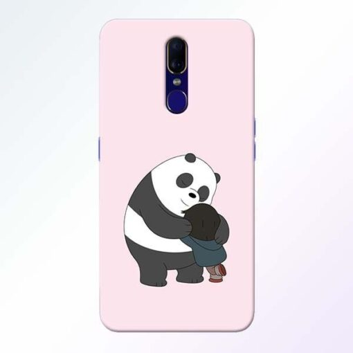 Panda Close Hug Oppo F11 Mobile Cover