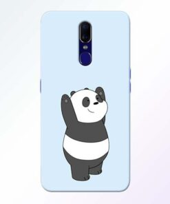 Panda Hands Up Oppo F11 Mobile Cover