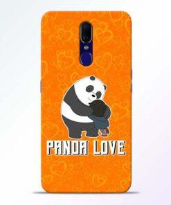 Panda Love Oppo F11 Mobile Cover