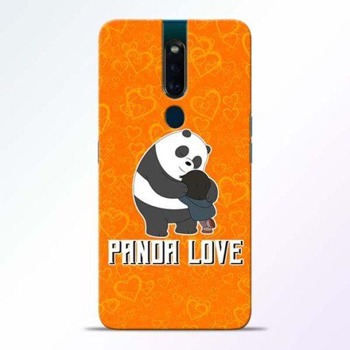 Panda Love Oppo F11 Pro Mobile Cover