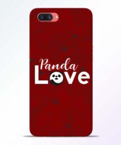 Panda Lover Oppo A3S Mobile Cover