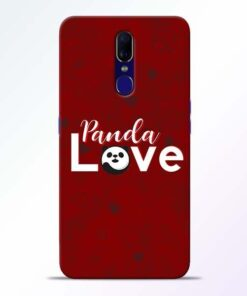 Panda Lover Oppo F11 Mobile Cover