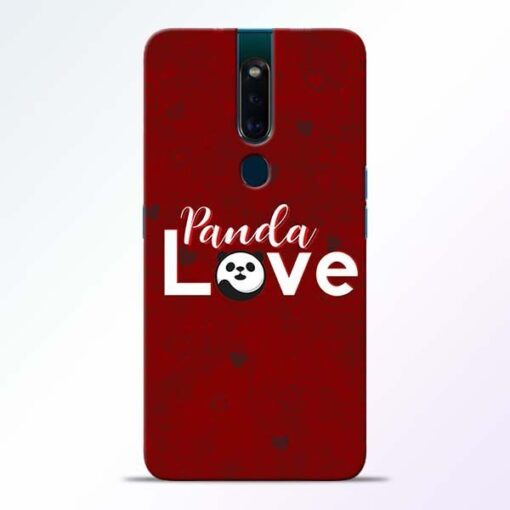 Panda Lover Oppo F11 Pro Mobile Cover