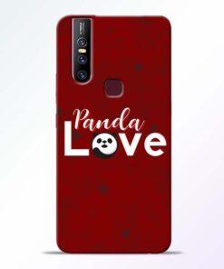 Panda Lover Vivo V15 Mobile Cover