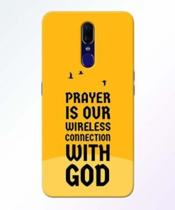 Prayer Is Over Oppo F11 Mobile Cover