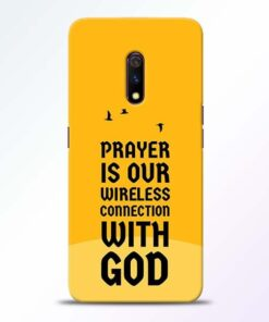 Prayer Is Over Realme X Mobile Cover