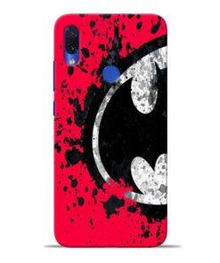 Red Batman Redmi Note 7S Mobile Cover