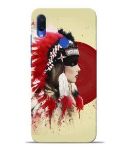 Red Cap Redmi Note 7S Mobile Cover