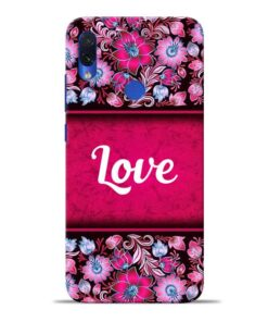Red Love Redmi Note 7S Mobile Cover