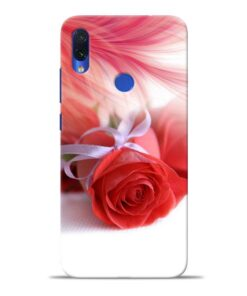 Red Rose Redmi Note 7S Mobile Cover