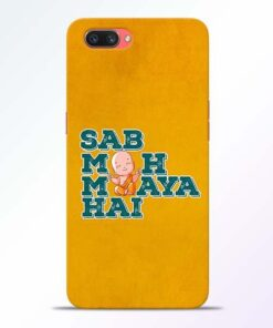 Sab Moh Maya Oppo A3S Mobile Cover