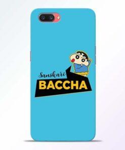 Sanskari Baccha Oppo A3S Mobile Cover
