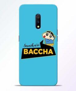 Sanskari Baccha Realme X Mobile Cover