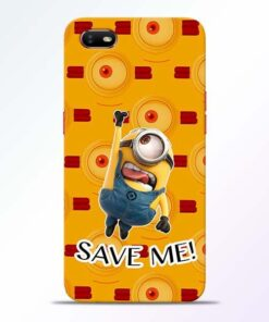 Save Minion Oppo A1K Mobile Cover