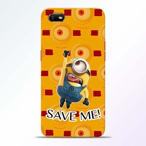 Save Minion Oppo A1K Mobile Cover