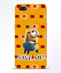Save Minion Oppo A3S Mobile Cover