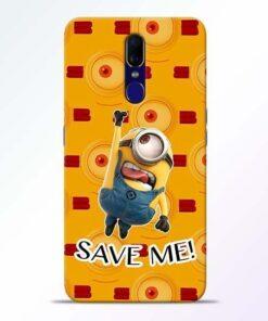 Save Minion Oppo F11 Mobile Cover