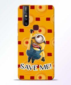 Save Minion Vivo V15 Mobile Cover