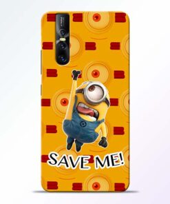 Save Minion Vivo V15 Pro Mobile Cover