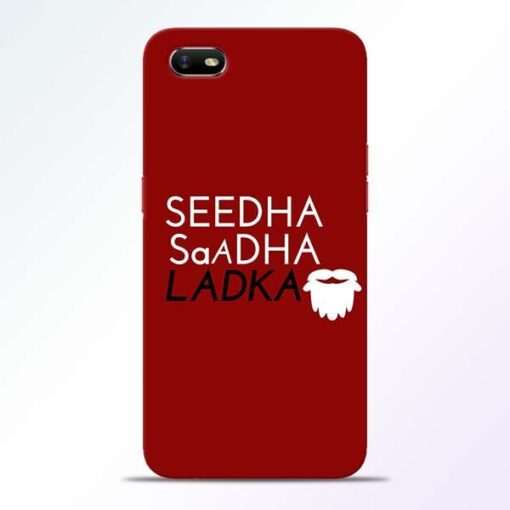 Seedha Sadha Ladka Oppo A1K Mobile Cover