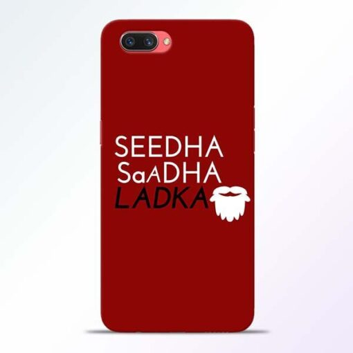 Seedha Sadha Ladka Oppo A3S Mobile Cover