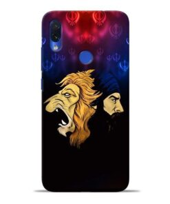 Singh Lion Redmi Note 7S Mobile Cover