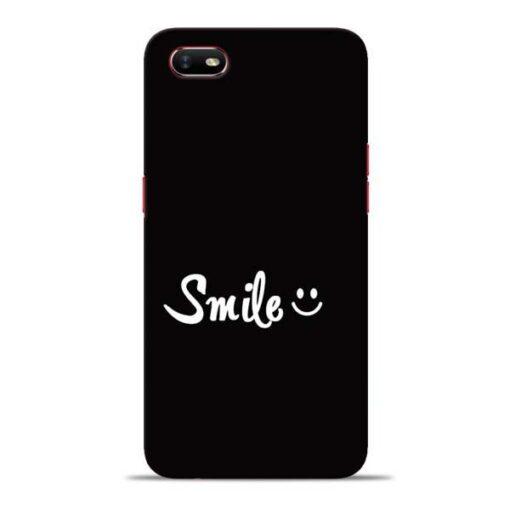 Smiley Face Oppo A1K Mobile Cover