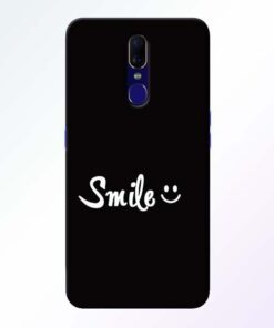 Smiley Face Oppo F11 Mobile Cover