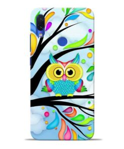 Spring Owl Redmi Note 7S Mobile Cover