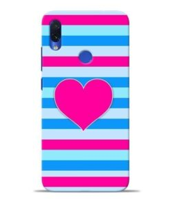 Stripes Line Redmi Note 7S Mobile Cover