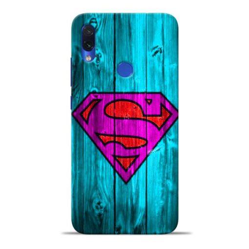 SuperMan Redmi Note 7S Mobile Cover